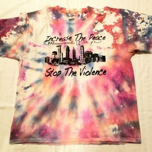 Tie dye graphic t-shirt